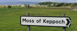 Moss of Keppoch at the Scottish west coast